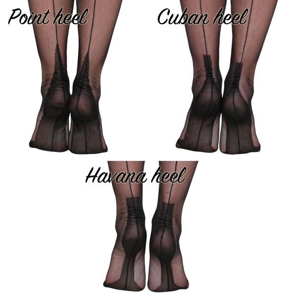 ce36e3f6489 Fully-fashioned full contrast stockings - Fully Fashioned Stockings ...