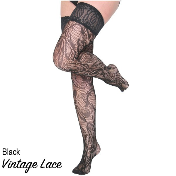 Vintage Lace Stockings