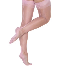 baby pink ff cuban stockings