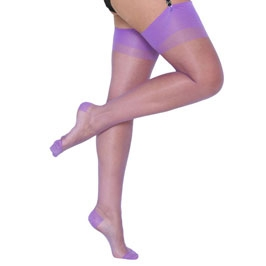 lilac rht stockings